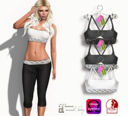 Eyelure Overlace Tops - Set of 3 Tops with Appliers