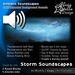 Thunderstorm Soundscapes - 6 Total Mins of Ambient Sound in 2 Sound Blocks - Thunder and Rainfall Sounds