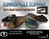 SUMMER MALE SLIPPERS