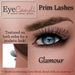 Lashes ad glamour