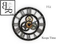 [BR] Gear Clock