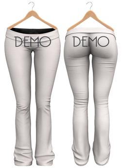 Blueberry - Sylvia Mesh Yoga Pants - Maitreya/Belleza/Slink - DEMO