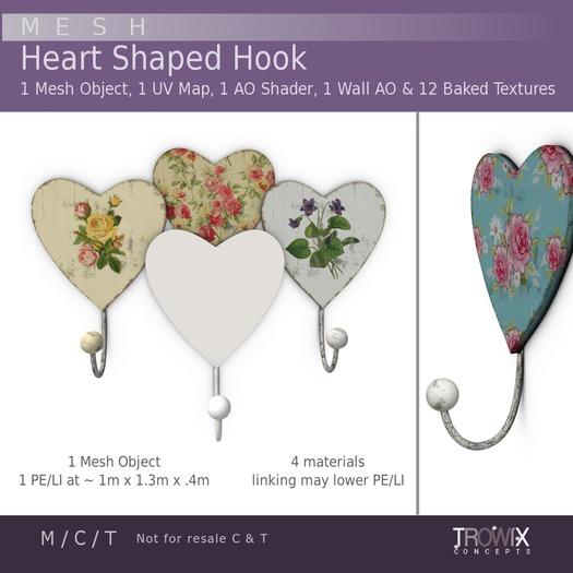 Trowix - Heart Hook Mesh Pack