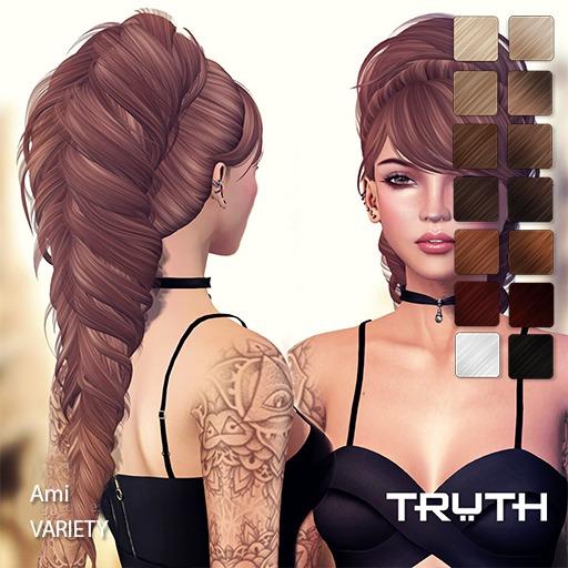TRUTH HAIR Ami - variety