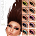 Oceane - Cat 3 eyeshadows Fat Pack (10x)