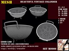 Gorgeous vintage colander Li: 0.5 M0900