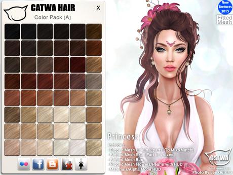 CATWA HAIR Princess [A]