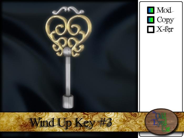 >^OEC^< Windup Key #3 v2.0