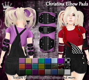 [Syn] Christina Elbow Pads (Texture HUD)