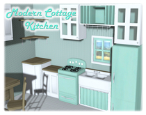 {XO} Full Perm - Modern Cottage Kitchen