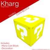 Kharg Design - Mario Coin Block