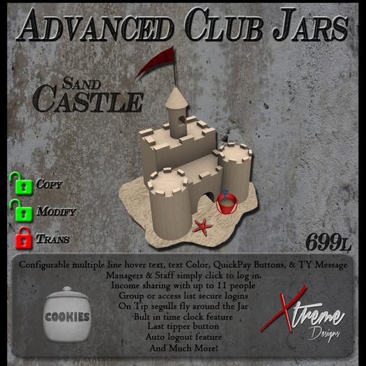 Copyable % Splitting Club Login TipJars - Sandcastle - Sand Castle