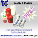 (FREE) Candles and crackers
