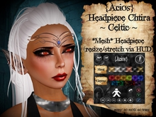 {Acios} Headpiece Chtira ~Celtic~