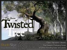 Skye Twisted Tree - Four Seasons in One - 100%Mesh