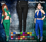 [Syn] Jacqueline Pants (Texture HUD, Fitted mesh, materials enabled)