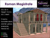 Roman Magistrate - ancient administration building