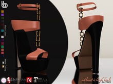 Bens Boutique - Atlantis High Heels - FATPACK