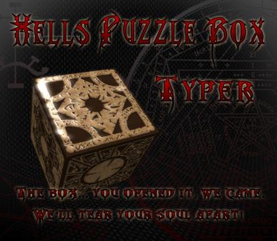 Hells Puzzle Box Typer