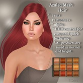 !SOUL - HAIR - Azalea - 12 Nuances -  Ginger Set 1