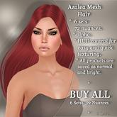 !SOUL - HAIR Mesh - Azalea - BUY ALL - 7 Sets- 72 Nuances