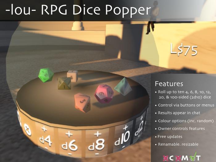 -lou- RPG Dice Popper