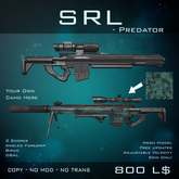 [BW] SRL Predator - Sniper Rifle