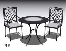 Iron cafe set 002