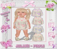CCC Melanie Romper - Purple - Toddleedoo Only!