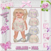 CCC Melanie Romper - Pink - Toddleedoo Only!