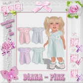 CCC Diana - Pink - Toddleedoo Only!