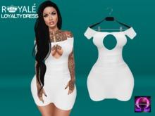 [Royale] Loyalty Dress White