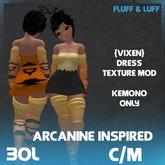 Arcanine Inspired Dress Texture Mod