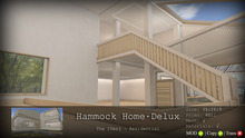 Hammock Home Delux - The [Den.] Residential Container v1.3