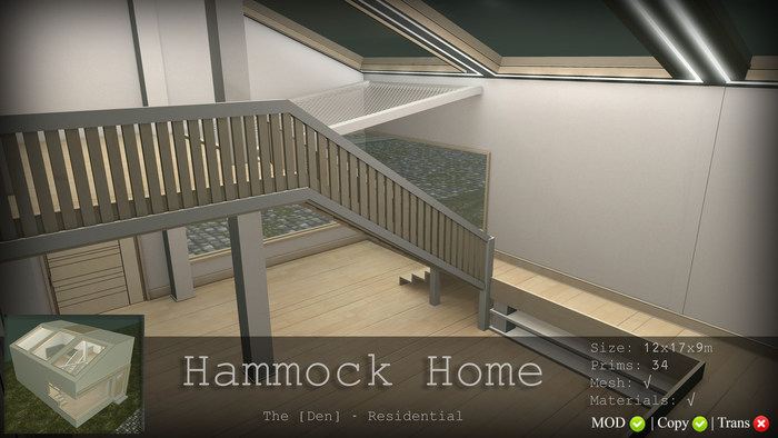 Hammock Home - The [Den.] Residential 50% SALE