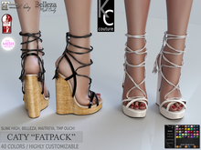 -KC- CATY Wedges / Slink Maitreya Belleza Legacy