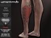 : Letis Tattoo : AESTHETIC : Koi : Leg tattoo