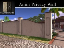 Anini Privacy Wall System by Galland Homes