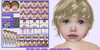 ND/MD Cuties (Sasha pale) unisex toddler mesh avatar + HUDs