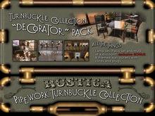 Rustica - PipeWork Turnbuckle Decorators Pack