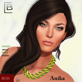 Baboom-Anika-chain-necklace-green