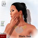 Baboom-MarieAnn-mesh EARRING/NECKLACE-5
