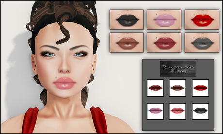 <BR> Cici Lipsticks (Catwa, Loud Mouth Appliers)