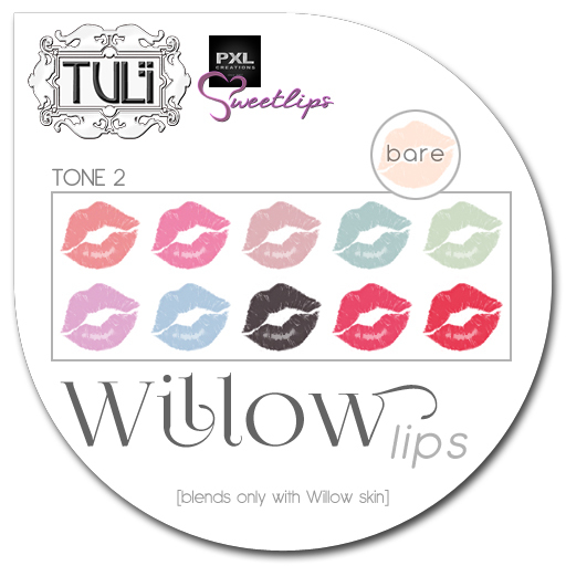 [:T:] Willow / PXL Sweetlips appliers