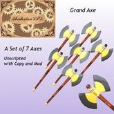 Thadovian LTD  Grand Axe -  Full Set Box