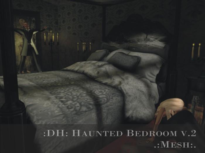 :DH: Haunted Bedroom v.2 (MESH) (PG)