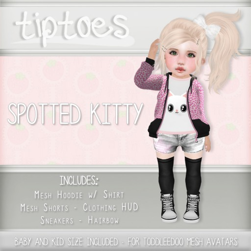 . tiptoes - Spotted Kitty