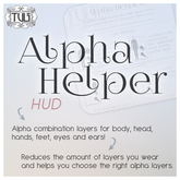 [:T:] Alpha helper