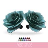 {MYNX} Rose Stud Earrings