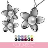 {MYNX} Wildflowers Set - Silver